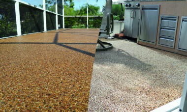 Outdoor Weather Resistant Flooring
