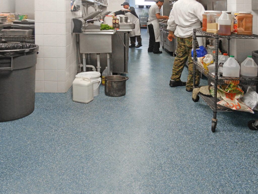 commercial kitchens flooring options